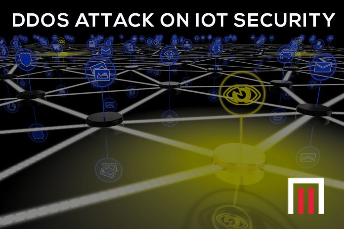Impact of DDOS attack on IoT security