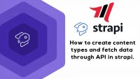 How to create content types and fetch data through API in strapi.